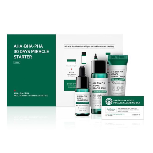 SOME BY MI AHA BHA PHA 30 Days Miracle Starter Kit Edition